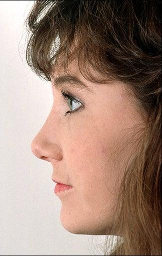 Как сделать курносый нос из носа