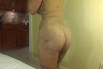 Mature Flat butt