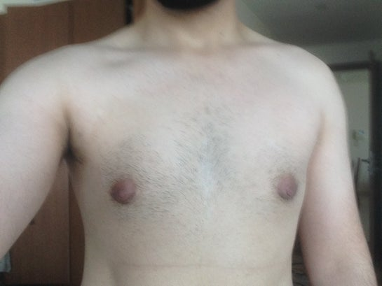 Flat Puffy Nipples