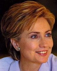 Hillary Clinton, after plastic surgery?