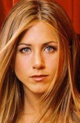 Jennifer Aniston, after the nose job?
