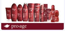 Dove Pro-Age Skincare product line is launching next month