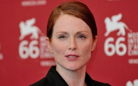 Julianne Moore freckles