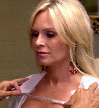 Tamra Real Housewives breast implants