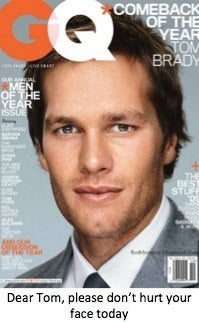 Tom brady plastic surgery super bowl