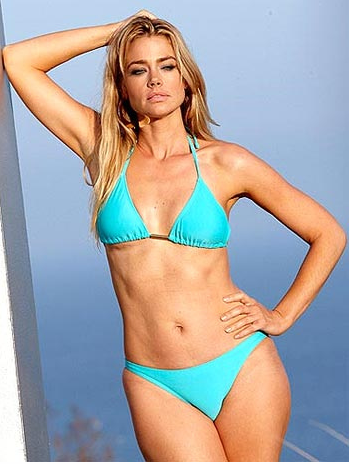 Denise Richards after 3 boob jobs