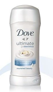 dove go sleeveless for ugly armpits