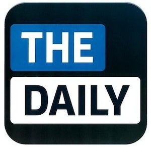 The Daily tablet newspaper