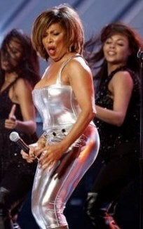 Tina Turner older and hot
