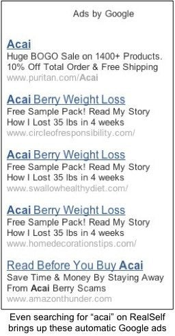 flat belly scam sweeps internet