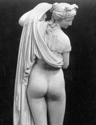 aphrodite buttocks greece