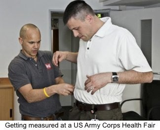 Liposuction is last resort for military standards