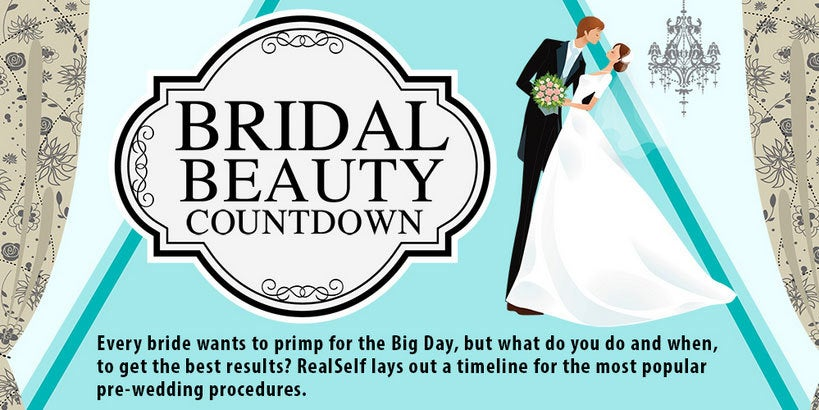 Bridal beauty: When to get beauty treatments done in preparation for your wedding