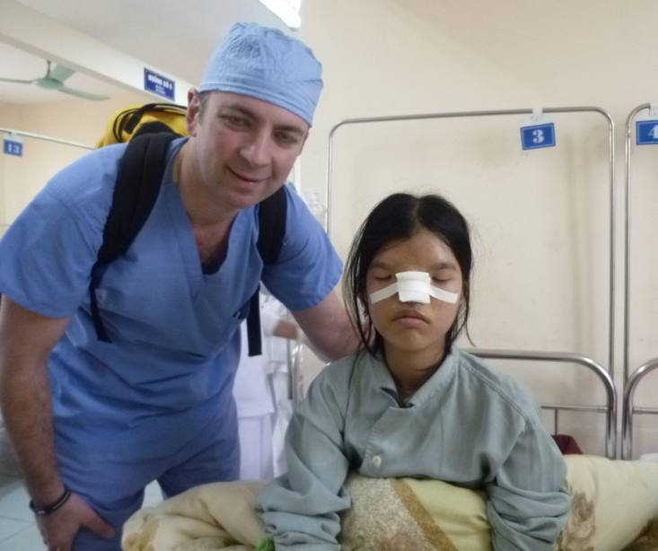Dr. Bustillo Vietnam mission post-op
