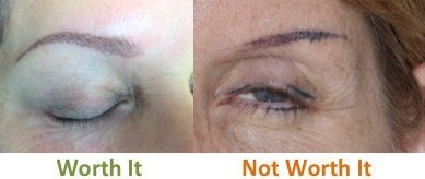 permanent makeup eyebrow photos