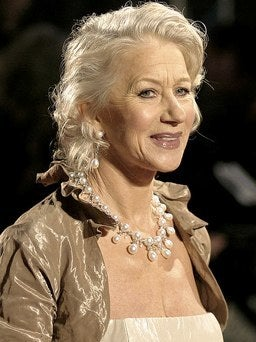 Helen Mirren older and gorgeous