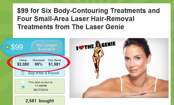 Laser Treatment Package