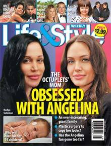 Obsessed with Angelina plastic surgery