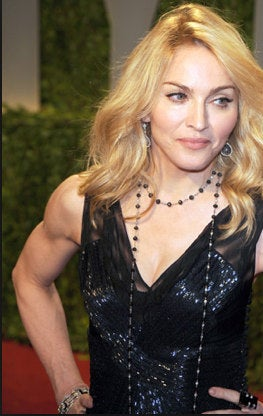 madonna toned arms