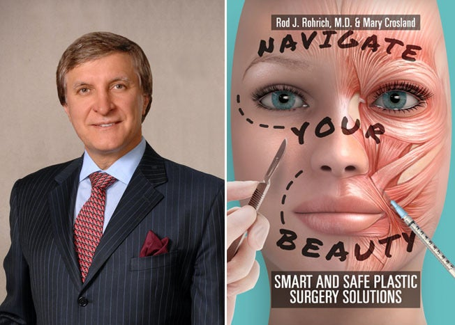 Dr. Rod Rohrich and his guide to finding the right plastic surgeon, Navigate Your Beauty