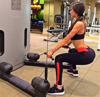 Jen Selter in the Gym