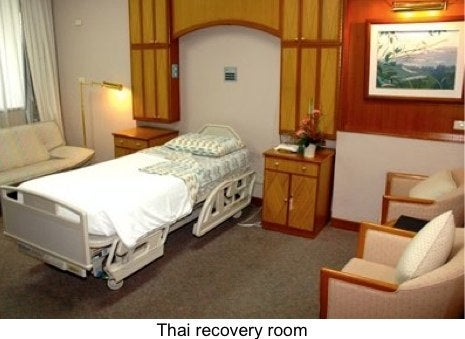 Thailand surgery center recovery room