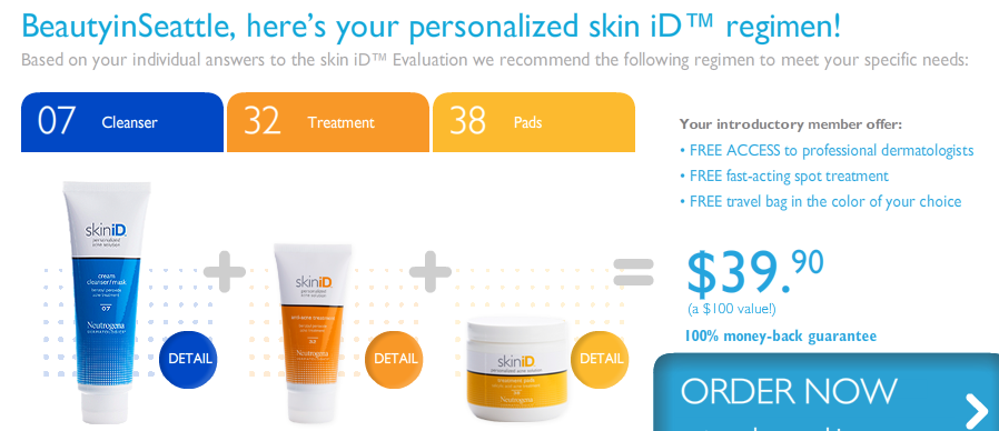 SkinID. SkinID allows you to better analyze your skin type and concerns to find a regimen that suits you best. (Coming August ).
