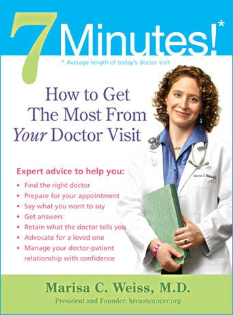 The average doctor visit today is 7 minutes