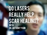 surgery scars laser treatment video