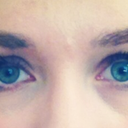 on the right is my LEFT (seemingly stronger) eye
