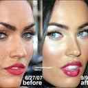I feel my current nose 3/4 view has much in common with megan Fox's before surgery. She seems to have had alot of work done to both bone and tip, yet has kept much of the natural shape while fixing the flaws.
