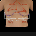 My digital image and measurements