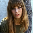Jane Birkin's cheekbones are ideal.
