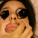 I see it looks bulbous & even though its not perfect I think it would look bulbous like this and not match the nostrils