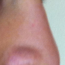 Right view of my nose is the way I like it. Have a nice tip. I would like to make the left side tip look similar